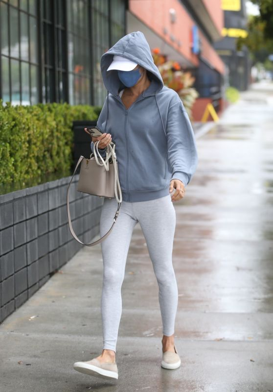 Alessandra Ambrosio - Out in Los Angeles 10/25/2021