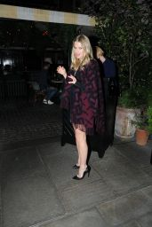 Alice Eve Night Out Style - London 10/09/2021