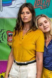 Alyson Aly Michalka and Amanda AJ Michalka - Lollapalooza at Grant Park in Chicago 07/30/2021
