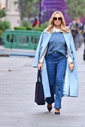 Amanda Holden Street Style - London 10/11/2021