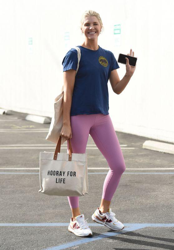 Amanda Kloots at DWTS TV Show Rehearsals in LA 10/08/2021