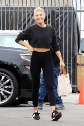 Amanda Kloots at the Dancing With The Stars Rehearsal Studio in LA 10/07/2021