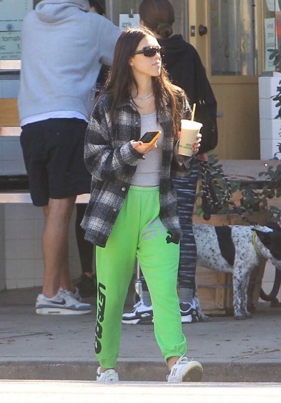 Amelia Gray Hamlin in Comfy Outfit - Hollywood 10/19/2021