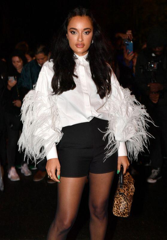 Amina Muaddi – Valentino Womenswear Spring/Summer 2022 Show in Paris 10/01/2021