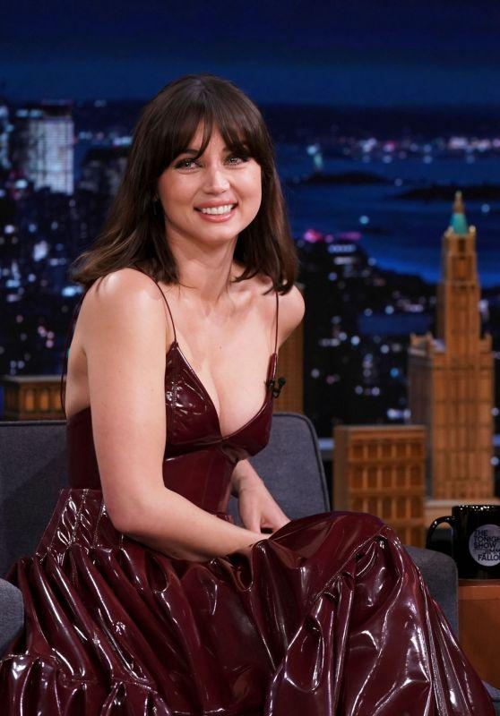 "Ana de Armas - The Tonight Show Starring Jimmy Fallon"" in NYC 10/08/2021"