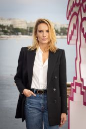 """Ana Girardot - """"Totems"""" Photocall at the 4th Canneseries in Cannes 10/09/2021"""