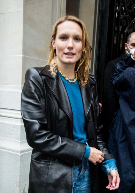 Ana Girardot – Vogue Paris Celebrating its 100th Anniversary at the Palais Galliera in Paris 10/01/2021