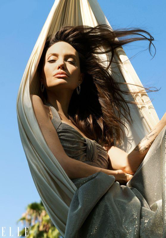 Angelina Jolie - ELLE Magazine November 2021
