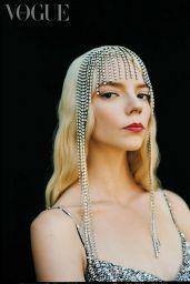 Anya Taylor-Joy - Vogue Mexico October 2021