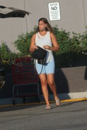 April Love Geary at Target in Los Angeles 10/06/2021