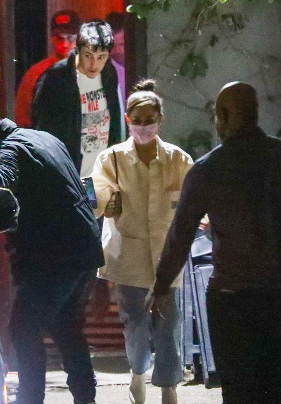 Ariana Grande - Dave Chapelle Show in LA 10/06/2021