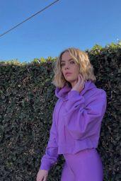 Ashley Benson - Alo Sportswear Photoshoot October 2021 (more photos)