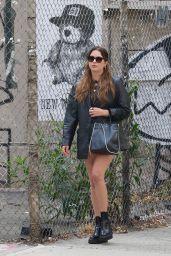 Ashley Benson Street Style - NYC 10/03/2021