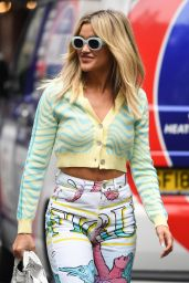 Ashley Roberts – Out in London 10/08/2021