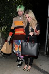 Avril Lavigne at Giorgio Baldi in Santa Monica 10/13/2021