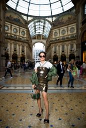 Becky G - Out in Milan 09/25/2021