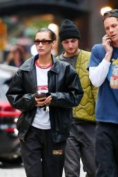 Bella Hadid and Marc Kalman - Out in New York 10/05/2021