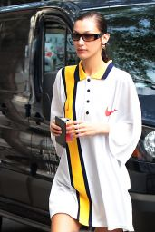Bella Hadid in a Nike Fit - New York 10/08/2021