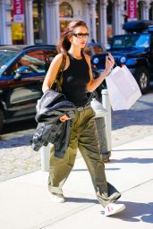 Bella Hadid in Casual Outfit - New York City 10/03/2021
