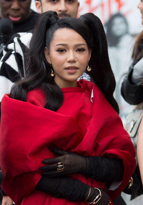 Bella Poarch – Leaving L'Oreal Show at Paris Fashion Week 10/03/2021