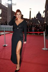 """Bella Thorne - """"Time Is Up"""" Red Carpet in Rome 10/16/2021"""
