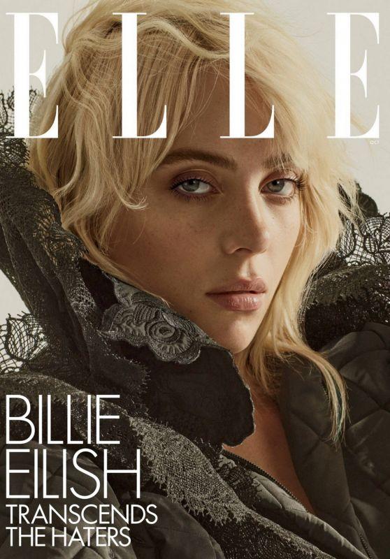 Billie Eilish - ELLE Magazine October 2021 Issue
