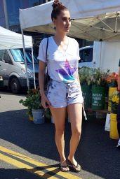 Blanca Blanco - Shopping at Her Local Farmer