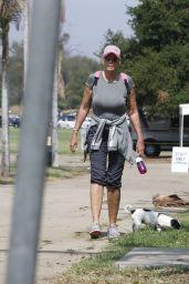 Brigitte Nielsen at a Park in LA 10/04/2021