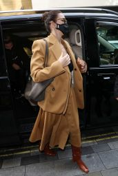 Caitriona Balfe - Arriving at the Ham Yard Hotel in London 10/09/2021