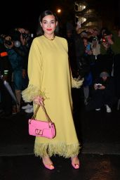 Camélia Jordana - Valentino Womenswear Spring/Summer 2022 Show in Paris 10/01/2021