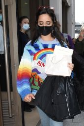 Camila Cabello - Leaving Her Hotel in Paris 10/05/2021