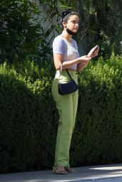 Camila Mendes in Casual Outfit - Beverly Hills 10/11/2021