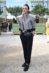 Camille Cottin - Dior Fashion Show at Paris Fashion Week 09/28/2021