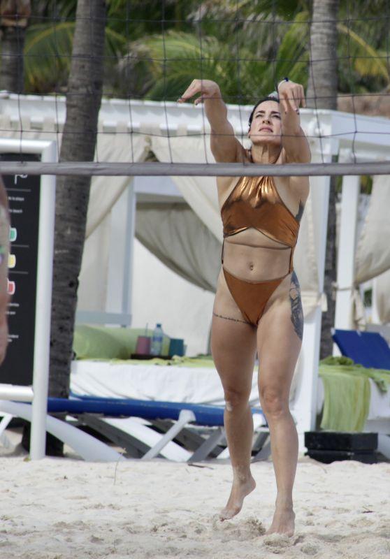Cara Maria Sorbello - Plays Beach Volleyball in Playa del Carmen 10/09/2021