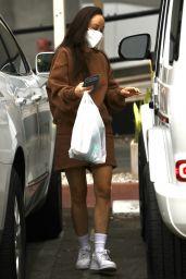 Cara Santana at a Deli in West Hollywood 10/07/2021