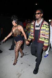 Cardi B - Arrives at Her 29th Birthday Party in Los Angeles 10/11/2021