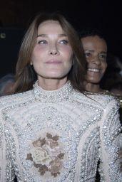 Carla Bruni - Balmain Festival in Paris 09/29/2021