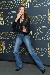 Carla Bruni – Etam Womenswear Spring/Summer 2022 Show in Paris 10/04/2021