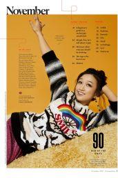 Cathy Ang - Cosmopolitan US November 2021 Issue
