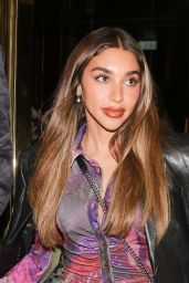 Chantel Jeffries Night Out Style - Isabel Restaurant in London 10/12/2021