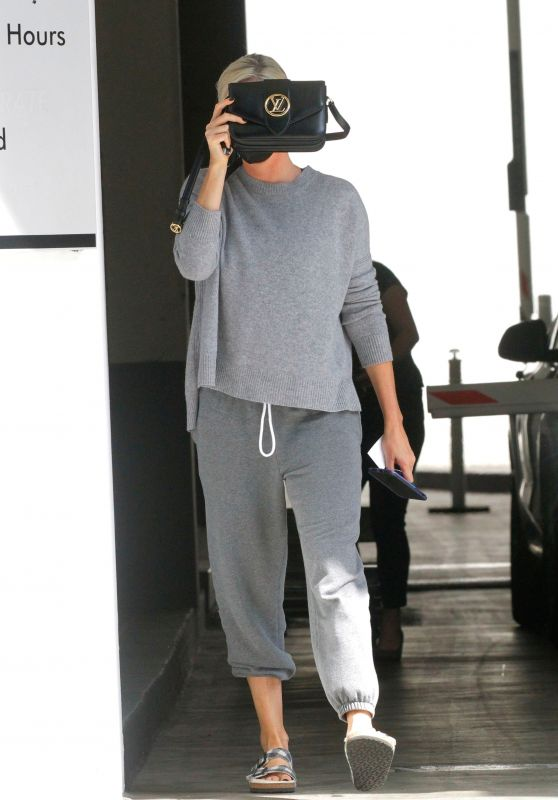 Charlize Theron - Running Errands in Beverly Hills 10/08/2021