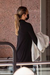 Chrissy Teigen at an Office Building in Beverly Hills 09/30/2021