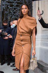 Cindy Bruna – Vogue Paris Celebrating its 100th Anniversary in Paris 10/01/2021