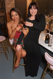 Daisy Lowe and Emma Weymouth - Second Night of Coravin Club Dinner Party Series Launch in London 10/05/2021