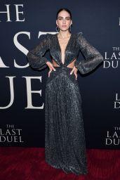"Daniela Botero – ""The Last Duel"" Premiere in NY 10/09/2021"