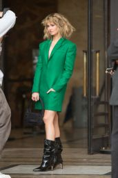 Debby Ryan – Leaving L'Oreal Show at Paris Fashion Week 10/03/2021