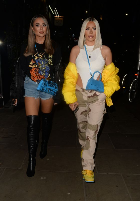 Demi Sims and Frankie Sims - Out in Kensington 10/17/2021