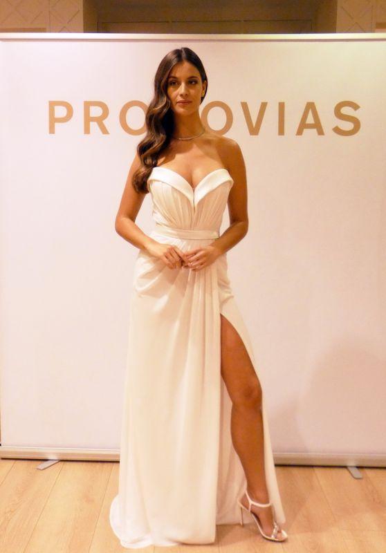 Desire Cordero - Fitting for Bridal Brand Pronovias 10/14/2021