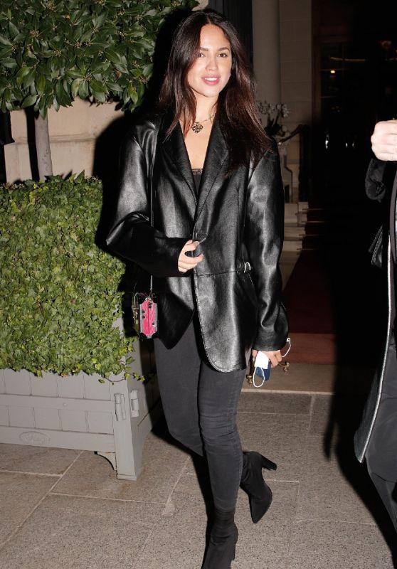 Eiza Gonzalez - Leaving the Ritz in Paris 10/04/2021