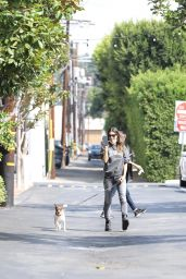 Elisabetta Canalis - Out in West Hollywood 10/08/2021